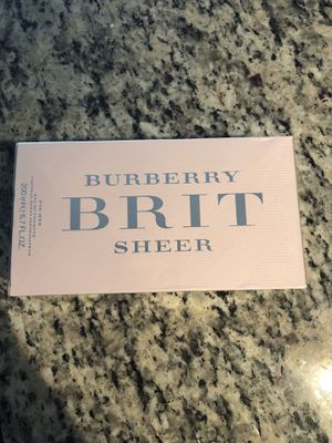 Burberry Brit Sheer perfume 6.7 fl oz for Sale in Toms River, NJ