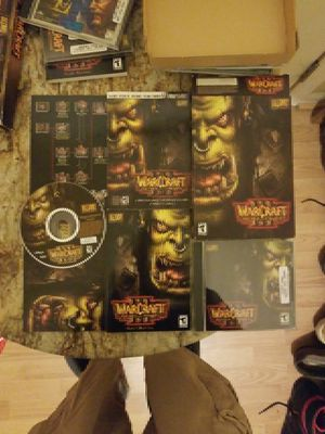 Warcraft 3 reign of chaos blizzard entertainment computer game for Sale in Raleigh, NC