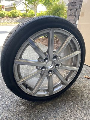 "Audi 18"" Rims & Tires - Used for Sale in Issaquah, WA"
