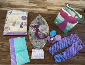 MERMAID PARTY SUPPLIES for Sale in Peoria, AZ