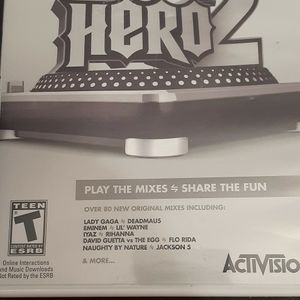 DJ HERO 2 (Nintendo Wii + Wii U) for Sale in Lewisville, TX