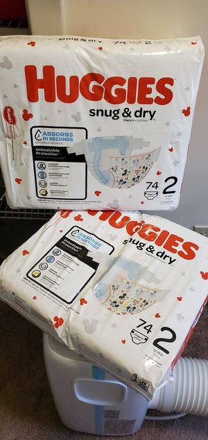 Huggies diapers for Sale in LAKEHURST NAE, NJ