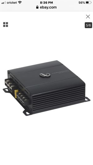 Infinity Primus 6002A Compact 2-channel car amplifier 60 watts RMS x 2 for Sale in Phoenix, AZ