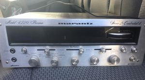 Marantz - Model 4220 Receiver with original Speakers. Works great for Sale in Lake Grove, OR