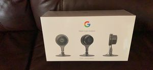 New Factory Sealed Nest Camera Indoor 3 Pack for Sale in Malden, MA