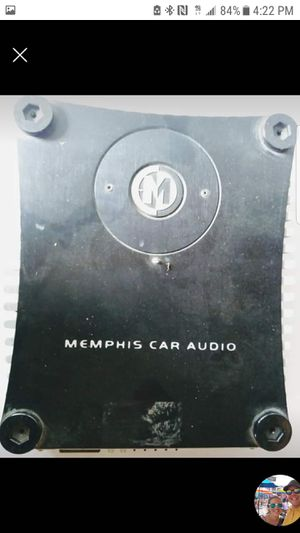 Memphis 2 channel amp for Sale in Blaine, MN