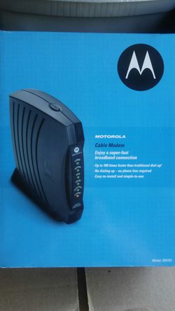 Motorola Cable Modem for Sale in Carlsbad,  CA