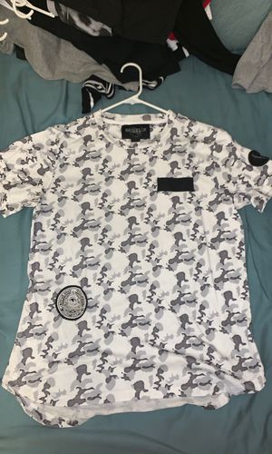 White/Grey Camo T Shirt for Sale in Silver Spring, MD