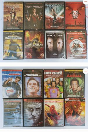Various DVD Movies for Sale in Armona, CA