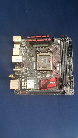 Msi Z170I 6 & 7 gen Micro ATX for Sale in Fontana, CA