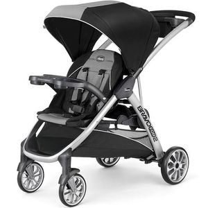 Chicco BravoFor2 Baby Adjustable Harness Double Stroller - Zinc for Sale in Los Angeles, CA