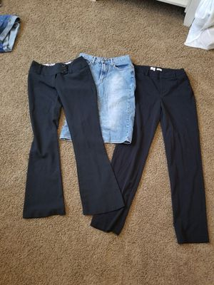 Junior's size 1/2 dress pants and skirt for Sale in Veradale, WA