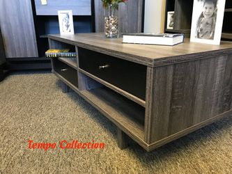 NEW, C&M Coffee/ Center Table, Distressed Grey and Black, SKU# 151345CT for Sale in Midway City,  CA