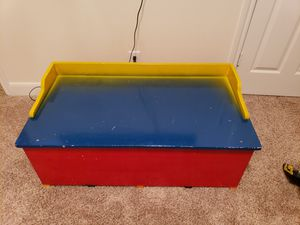 Kids Toy chest - wooden for Sale in Houston, TX