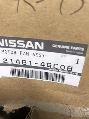 INFINITI Q50 Q60 MOTOR & FAN ASSY-W/SHROUD Match Part# 21481-4GC0B OEM for Sale in Apopka, FL