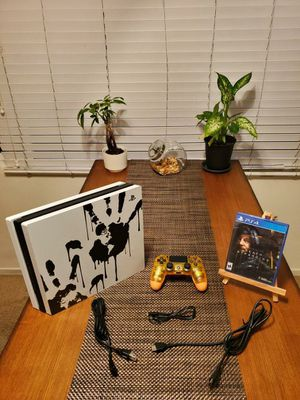 PS4 Pro Death Stranding Limited Edition Includes Death Stranding Game for Sale in San Diego, CA