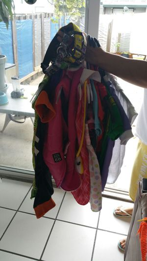 13 pieces of clothing and five large dog collars for Sale in Orlando, FL