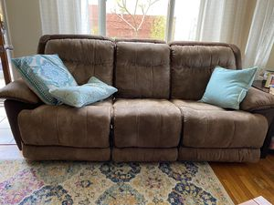 Reclining couch and loveseat for Sale in San Diego, CA
