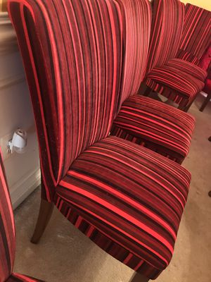 Modern Dining Chairs -each chair $75 for Sale in Ashburn, VA
