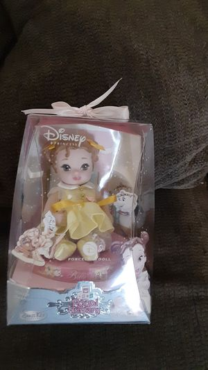 DISNEYS ROYAL NURSERY STORYTIME COLLECTION BELLE PORCELAIN DOLL for Sale in Pico Rivera, CA