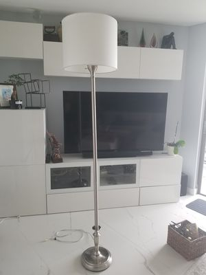 "Floor lamp like new 78"" H like new for Sale in Aventura, FL"