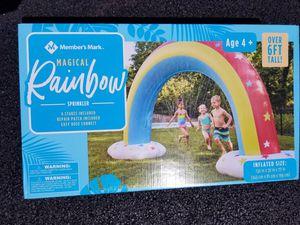 new magic rainbow sprinkler for Sale in Franklin Park, IL