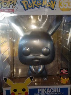 10' Silver Pikachu TargetCon Exclusive Funko Pop for Sale in Chicago,  IL