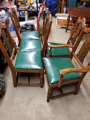 Antique table and chairs for Sale in Apollo, PA
