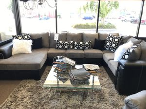 Sectional sofa custom made couch on sale only at elegant Furniture 🛋🎈 for Sale in Fresno, CA