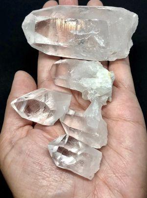 Quartz Clear Crystals 5pcs 241g total Brazil for Sale in Queen Creek, AZ