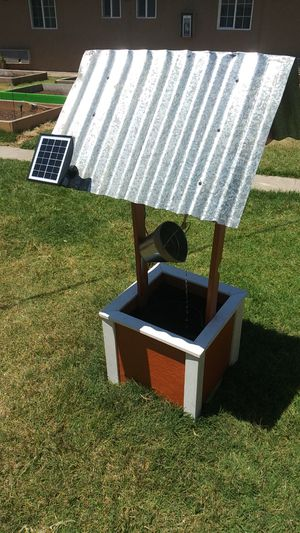 Solar well water fountain for Sale in Sanger, CA