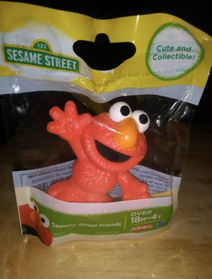 ELMO Sesame Street Mini Figurine Toy or Cake Topper for Sale in West Chicago, IL