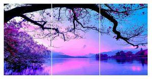 Purple scenery HUGE DIY Diamond painting 3pc kit full drill for Sale in Mesa, AZ