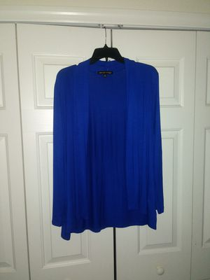 Classy Royal Blue Open Front Cardigan for Sale in Wesley Chapel, FL