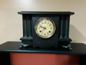 Antique clock with key and chimes for Sale in Fraser, MI