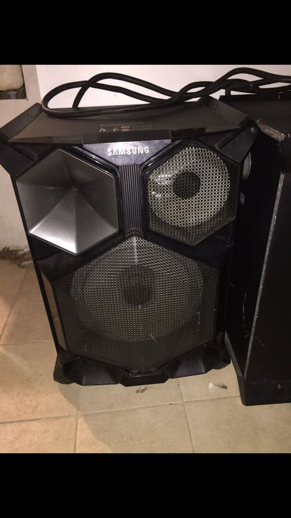 Samsung mx-js8000 giga sound (SALE ASIS) no cuestións is what it's