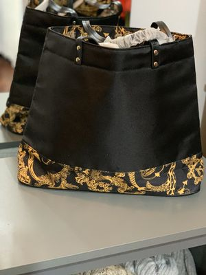Authentic Versace bag with small bag for Sale in Houston, TX
