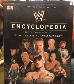 WWE Encyclopedia + Updated/Expanded for Sale in Lake Hallie, WI