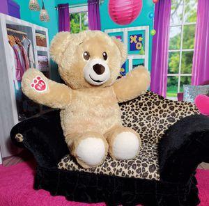 "15"" Build A Bear Classic Vanilla 🐻 Teddy Plush Stuffed Tan Cream BABW Soft EUC for Sale in Dale, TX"