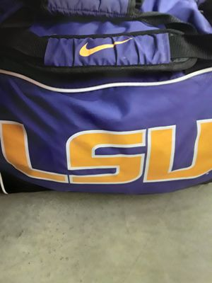 LSU nike duffle bag for Sale in Houston, TX