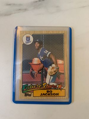 1987 Topps Future Stars Bo Jackson #170 Baseball card for Sale in Vancouver, WA