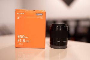 NEW Sony 50mm 1.8 OSS for Sale in Phoenix, AZ