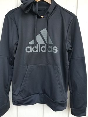 ADIDAS MENS HOODIE, COLOR BLACK, SIZE # S for Sale in Tualatin, OR