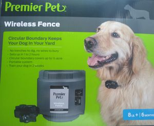 PREMIER PET 2 WIRELESS FENCE for Sale in Arlington, TX