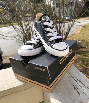 BRAND NEW Authentic Converse Shoes for little boy. Size 7 for Sale in Stone Mountain, GA
