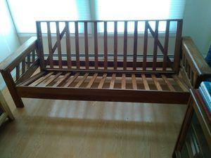 Solid Oak Futon Frame for Sale in Toms River, NJ