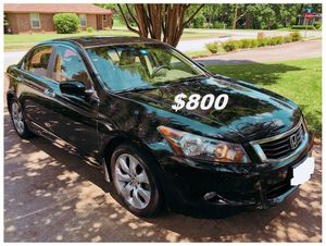 $8OO🔥 Very nice 🔥 2OO9 Honda accord sedan Run and drive very smooth clean title!!!! for Sale in Oakland Park, FL
