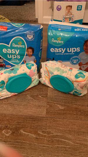 Pampers Easy ups bundle for Sale in Jacksonville, FL