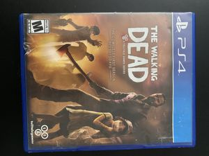 The Walking Dead -First Season - PS4 for Sale in Cary, NC
