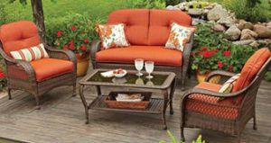 New!! Outdoor Conversation Set, orange, outdoor lounge furniture, patio furniture, chat set for Sale in Phoenix, AZ